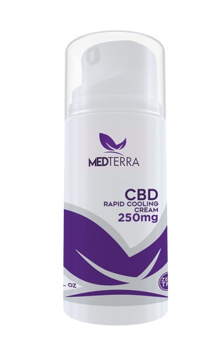 250mg CBD Topical Cooling Cream - MedTerra