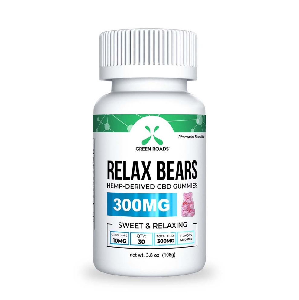 300MG Relax Gummies (30 DAY) - Green Roads
