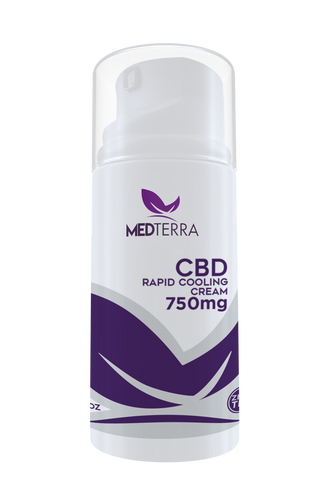 750mg CBD Topical Cooling Cream - MedTerra