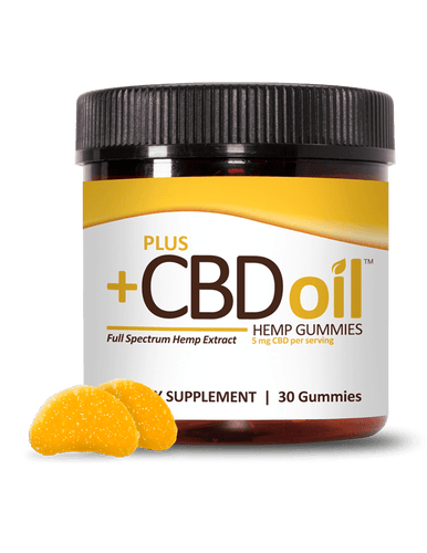 Gummies - 30ct 5mg Citrus Punch - Sugar Coated - PLUSCBD™ Oil