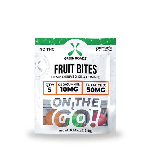 50mg Fruit Bites CBD Gummie - Green Roads