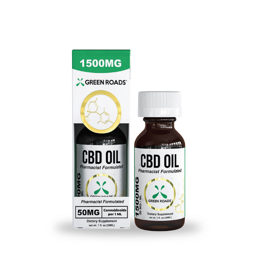 1,500MG Oil - Green Roads