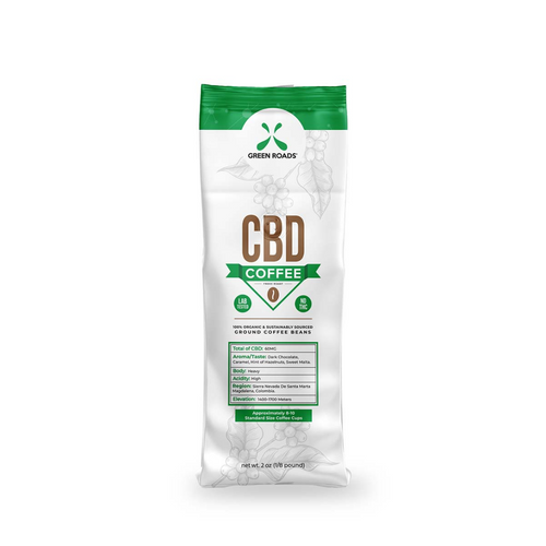 2oz CBD Coffee (Box Of 8) - Green Roads