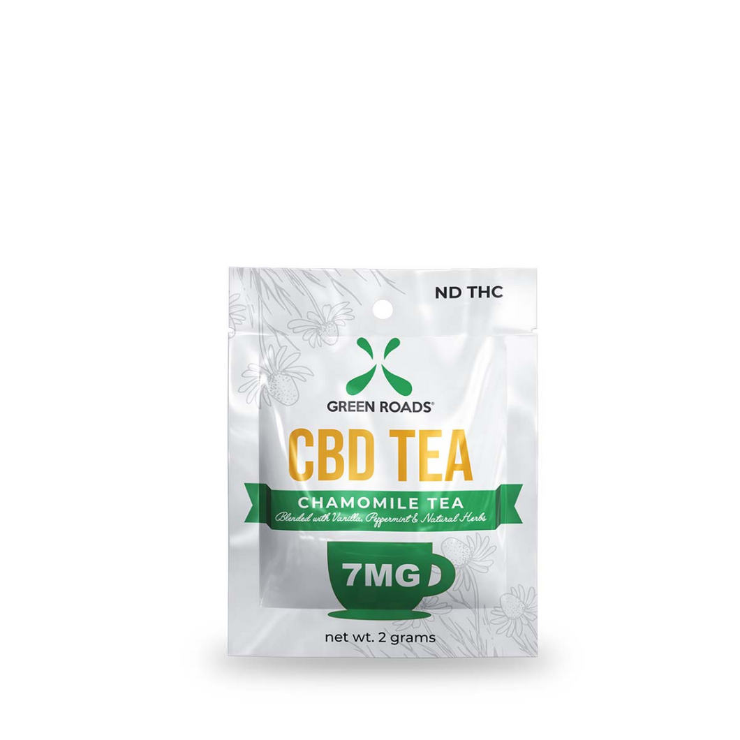 CBD Tea (Box Of 20) - Green Roads