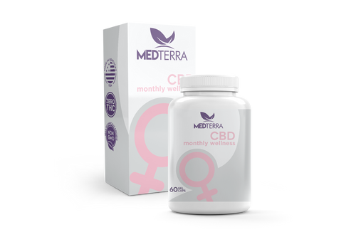 25mg Women's Monthly Wellness Capsules - MedTerra