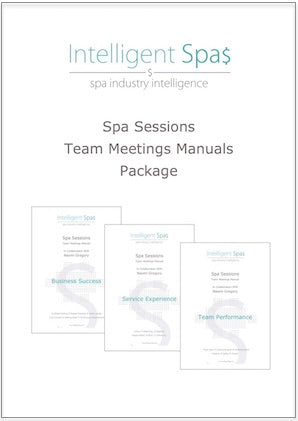 Spa Sessions Team Meetings Manual