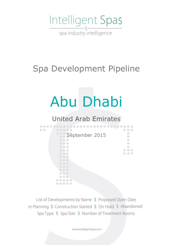 Abu Dhabi Spa Development Pipeline Report