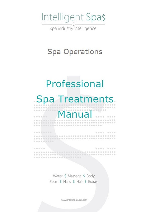 Spa Operations and Treatments Manuals Package