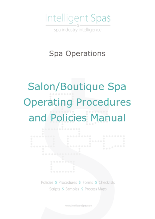 Salon and Boutique Spa Operating Procedures and Policies Manual