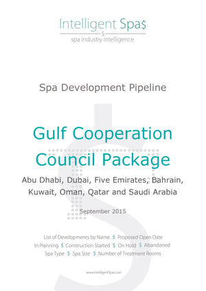 Gulf Cooperation Council Spa Development Pipeline Report Package
