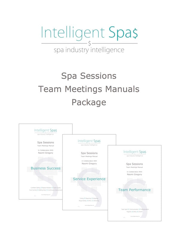 Spa Sessions Team Meetings Manuals Package