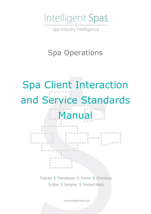 Spa Client Interaction and Service Standards Manual