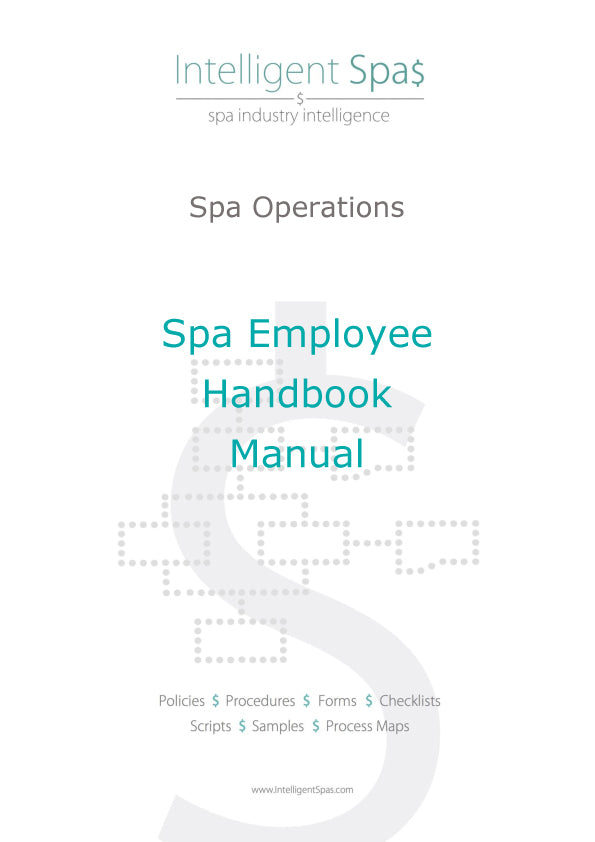Spa Employee Handbook Manual