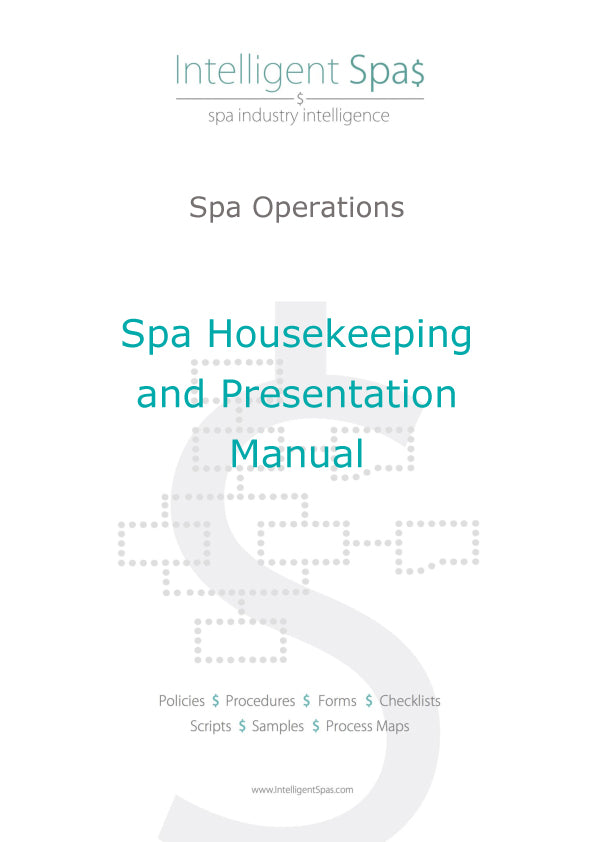 Spa Housekeeping and Presentation Manual