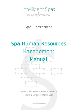 Spa Human Resources Management Manual