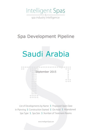 Saudi Arabia Spa Development Pipeline Report