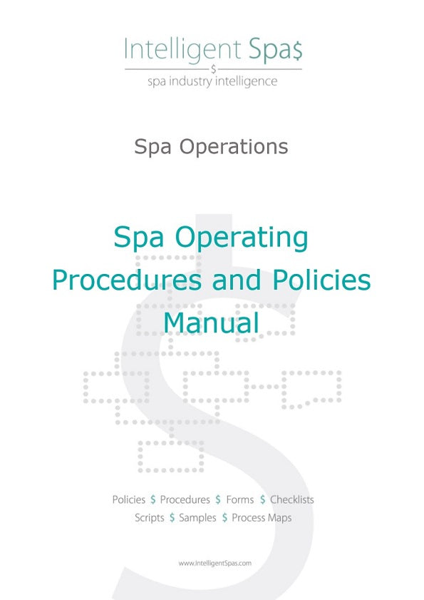 Spa Operating Procedures and Policies Manual
