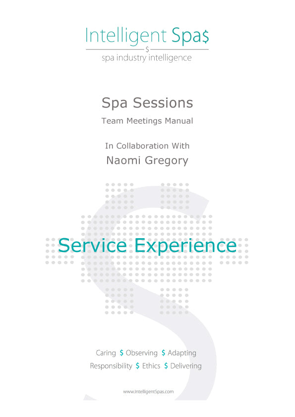 Spa Sessions Service Experience