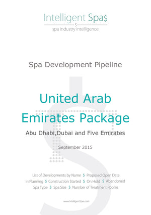 United Arab Emirates Spa Development Pipeline Report Package