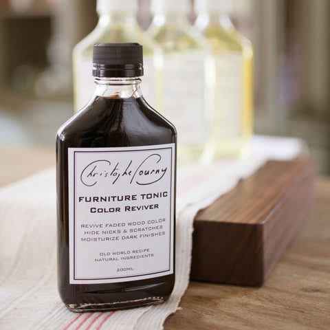 CHRISTOPHE POURNY HAND-BLENDED FURNITURE TONIC COLOR REVIVER