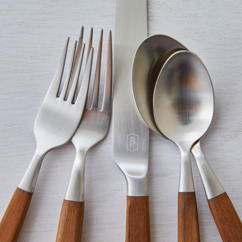 MAPLE WOOD FLATWARE