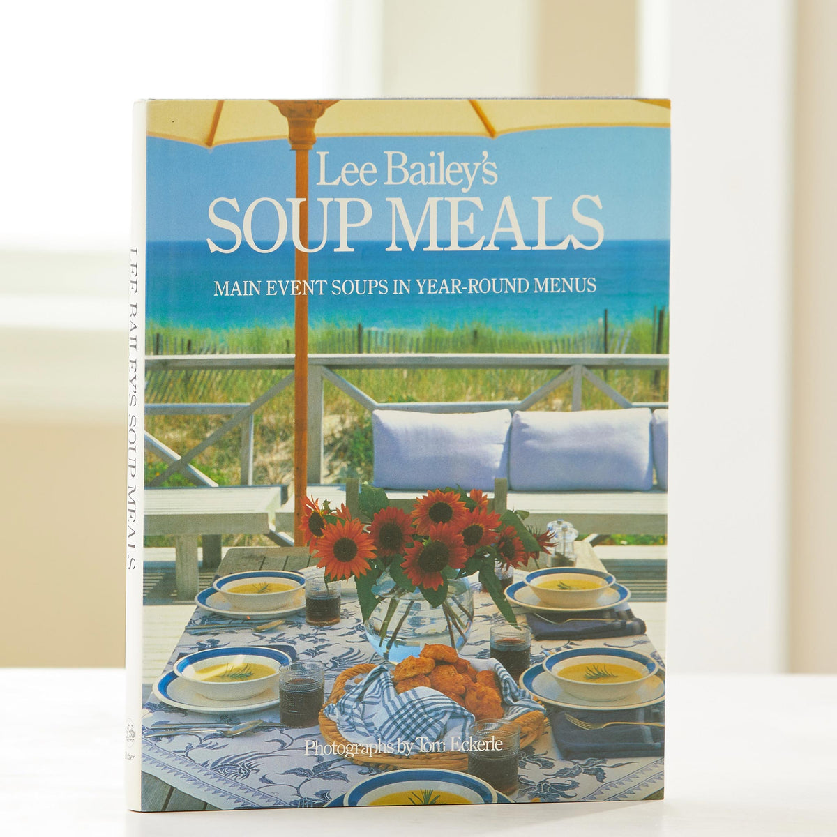 Lee Bailey's Soup Meals. Year-round soup recipes for all occasions. Warm weather or cold, lunch or dinner. This is the best vintage soup cookbook.