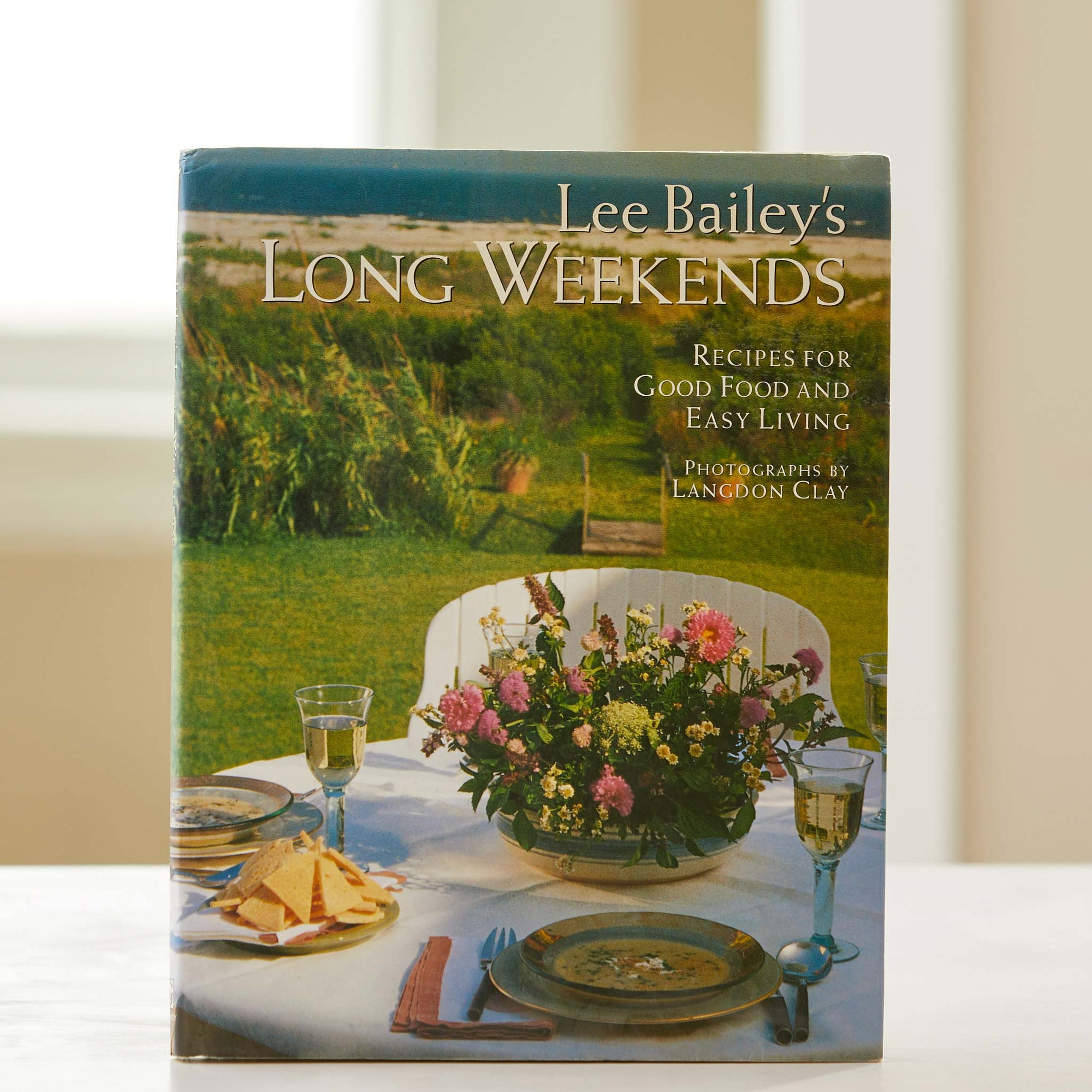 Lee Bailey's Long Weekends. This great american cookbook guides your entertaining across 8 regional cuisines. The best weekend cook book.