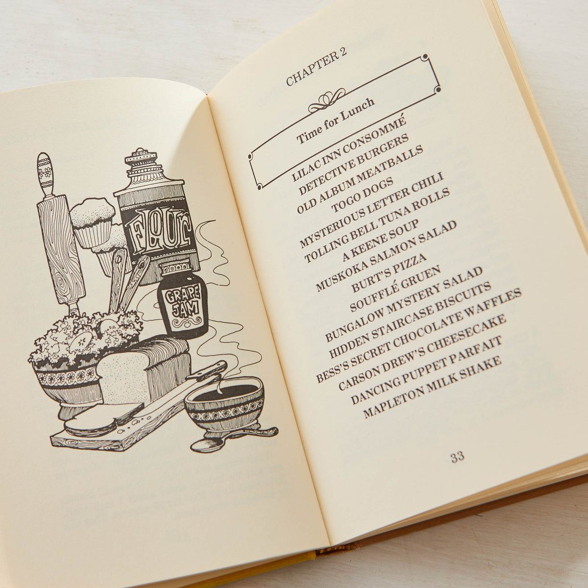 THE NANCY DREW COOKBOOK
