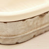 TIN & PORCELAIN SOAP DISH