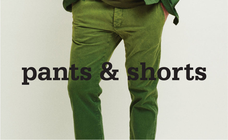 men - pants & shorts