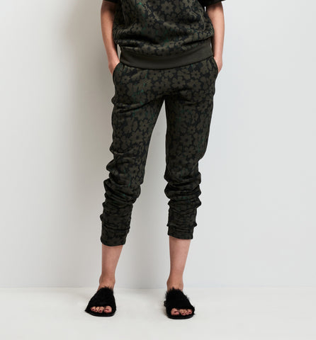 checker fleece pant