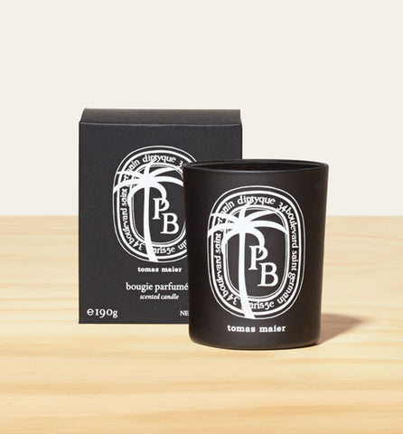 Diptyque candle inspired by the beach