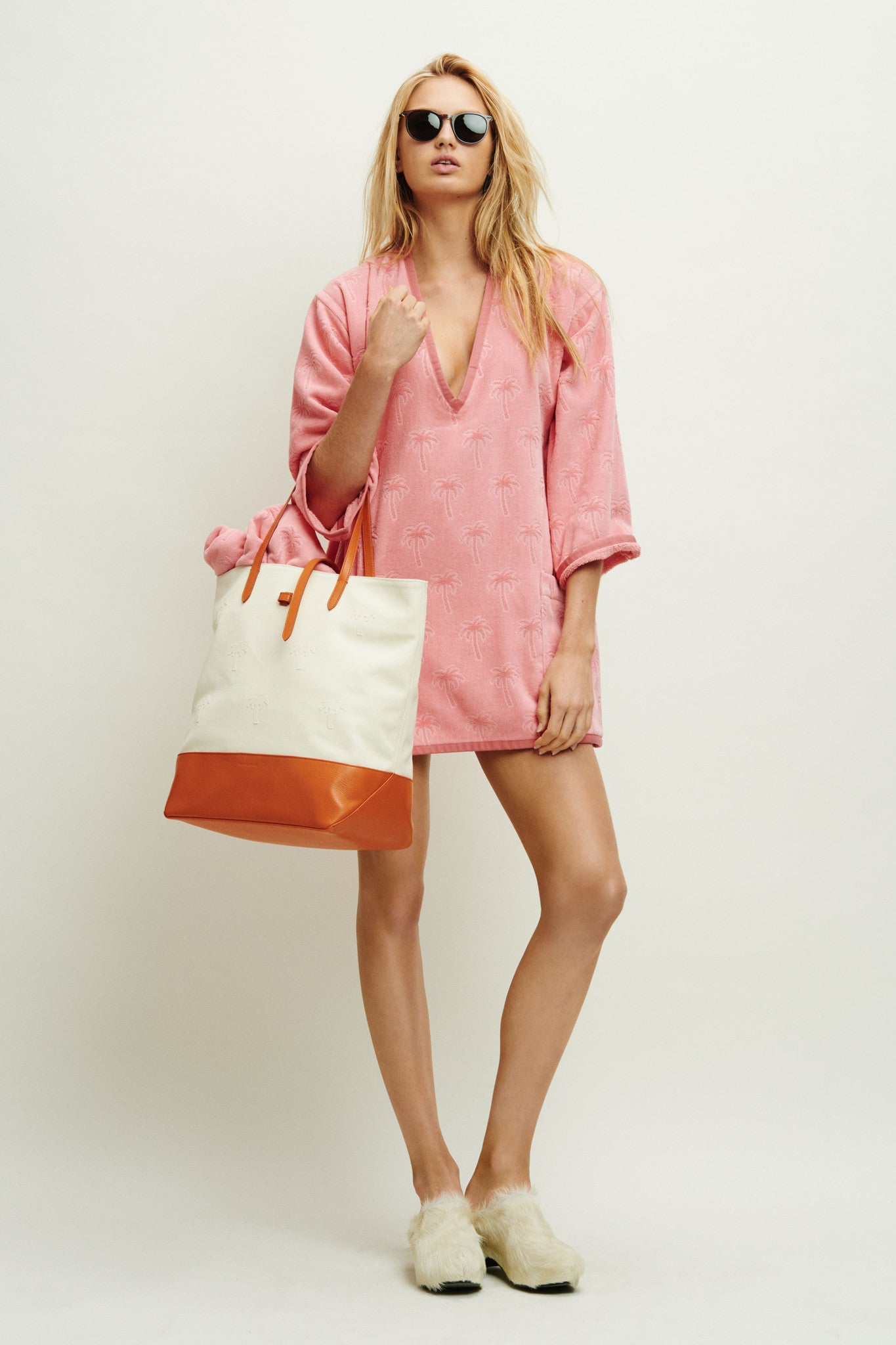 terry palm tunic