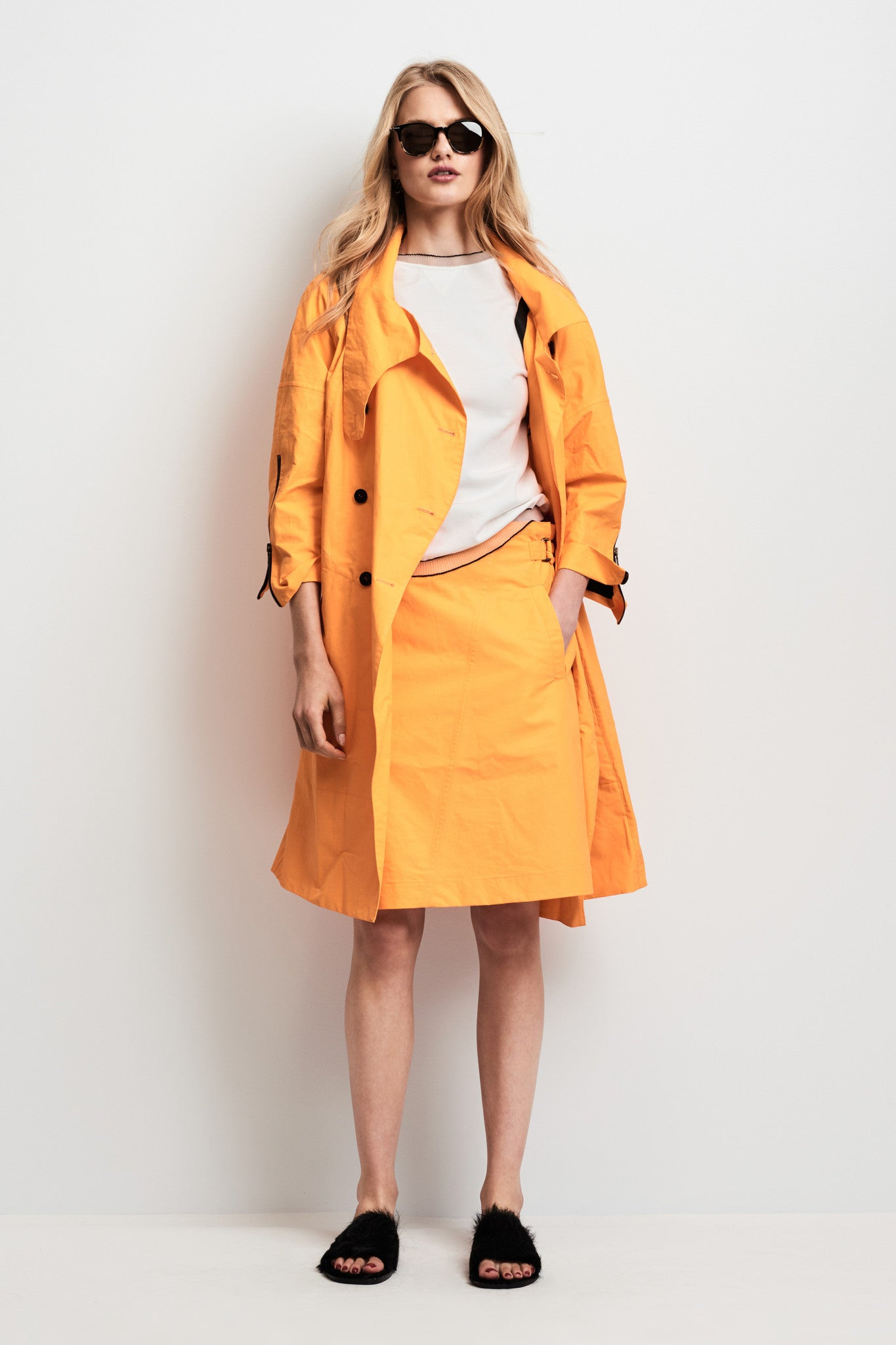 slicker cotton coat