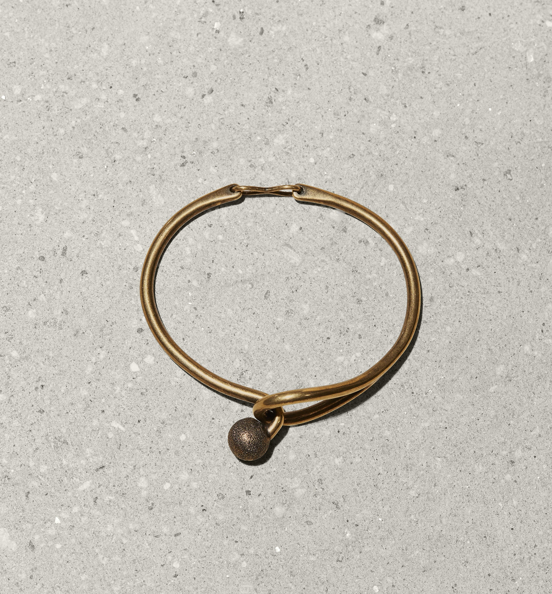 hinged metal bracelet