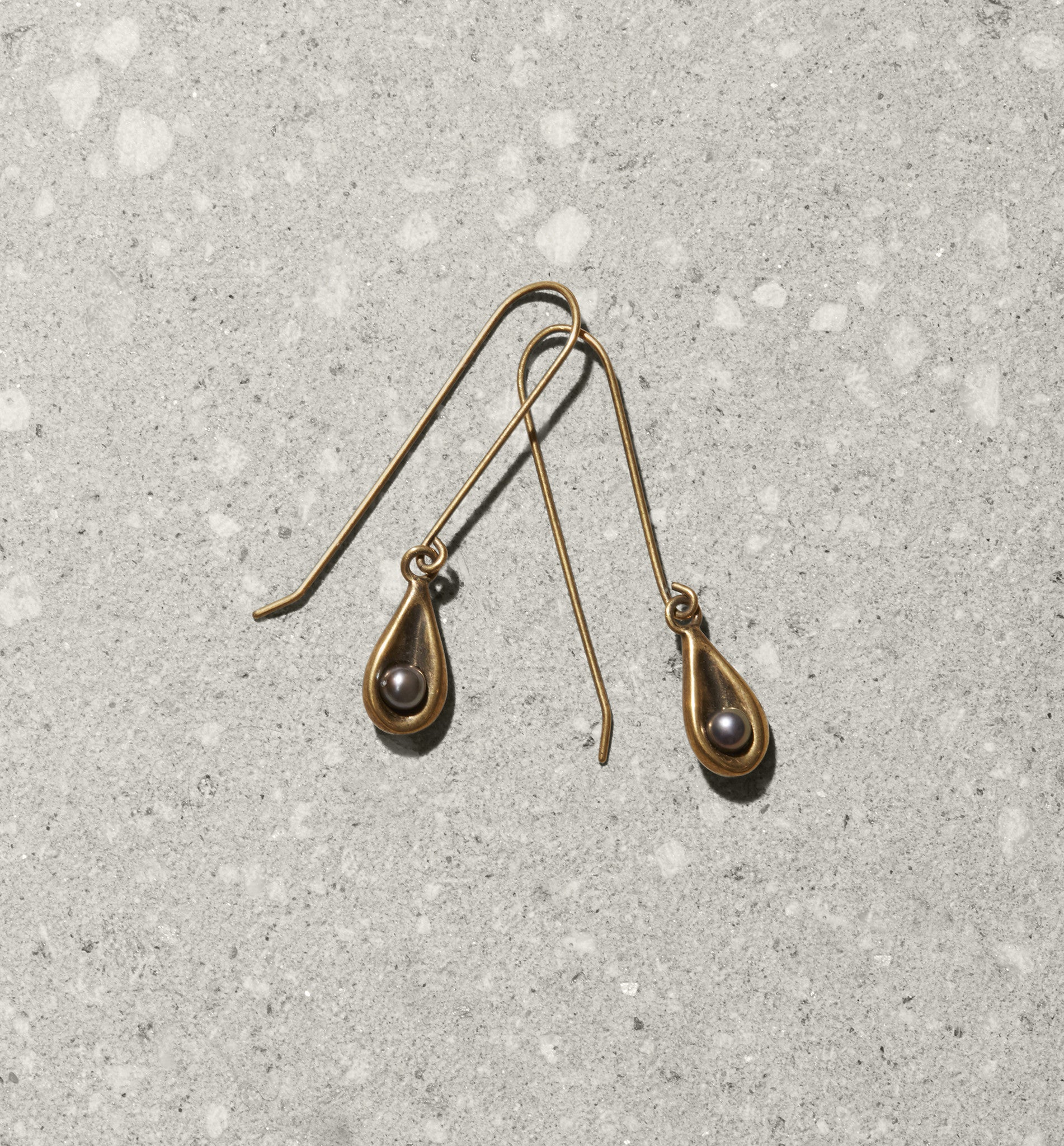 tear drop hook earrings