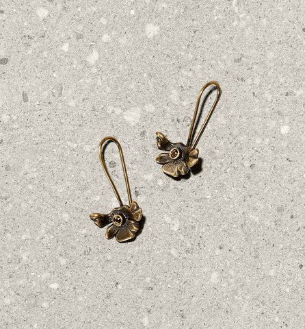 aster drop earrings