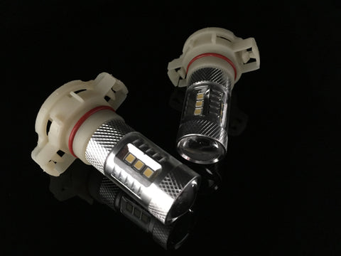 5202 | H16 | 9009  Hi- Power XB LED Cree Bulbs. Fog Lights | DRL