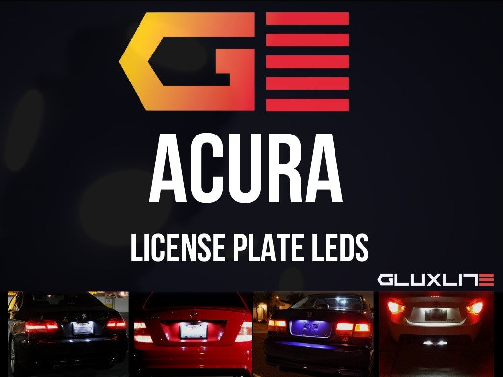 ACURA LICENSE PLATE LED RSX TSX TL ILX RL CL INTEGRA - Acura license plate