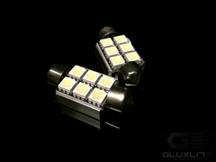 6411, 6418, 36mm.  Error Free. Canbus. 6 SMD L.E.D Festoon Bulb.