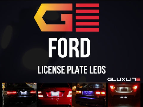 FORD License Plate LED.  Mustang | F150 | Focus