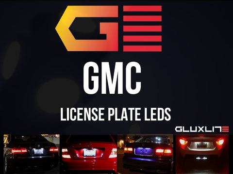 GMC Sierra | Yukon | Acadia | Canyon | Terrain |  Denali License Plate LED