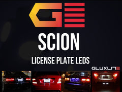 SCION License Plate L.E.D. Bright White. FRS, TC, XB, XA, XD, IQ.