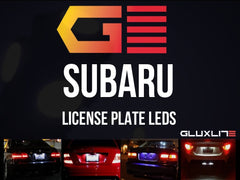 Subaru WRX | Impreza | Legacy| BRZ. L.E.D License Plate Lights