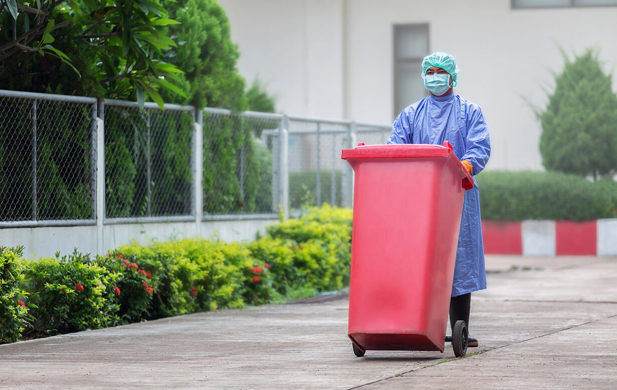 Hospital infectious waste