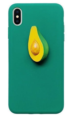 3D Avocado Phone Case