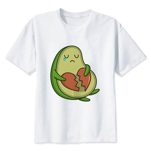Avocado Broken Heart Shirt