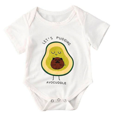 Avocado Onesie<br>Pugging