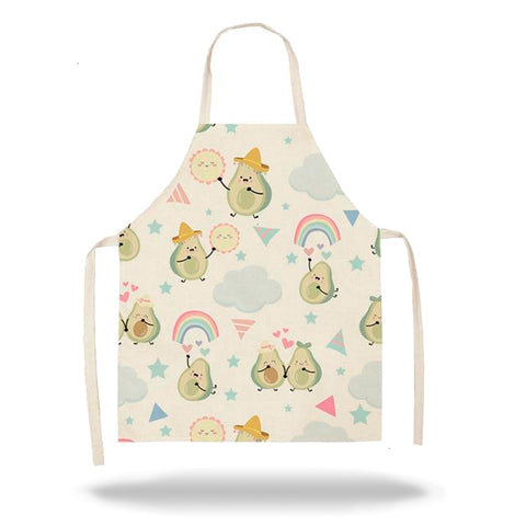 Avocado Apron <br>Rainbow