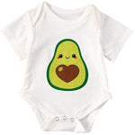 Avocado Onesie<br>Big Heart